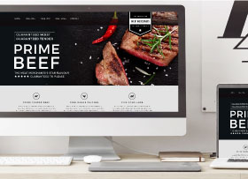 tweed headswebsite design